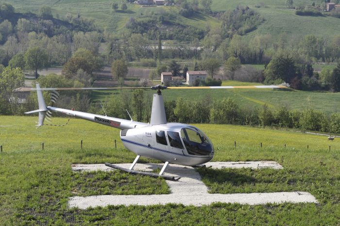 MODENA Helicopter tour on the land of the Myth