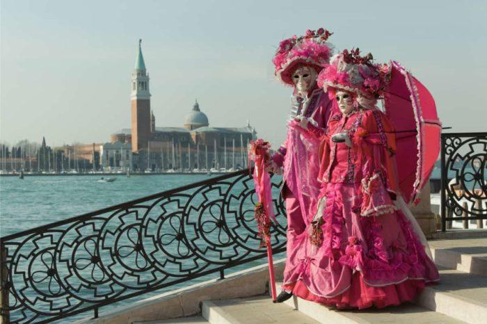 Venice Carnival in Costume