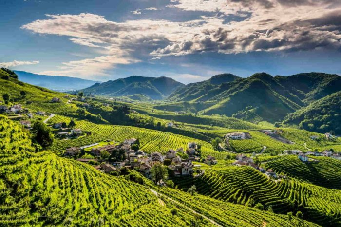 VENETO – Padua, the cycling road to Treviso and the Prosecco hills